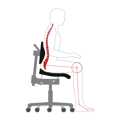Ergonomic Guidelines - Forward posture